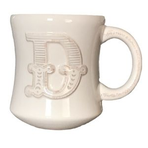 Hallmark Stephen Carter D Monogram Coffee/Tea Mug